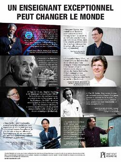 Un enseignant exceptionnel peut changer le monde
