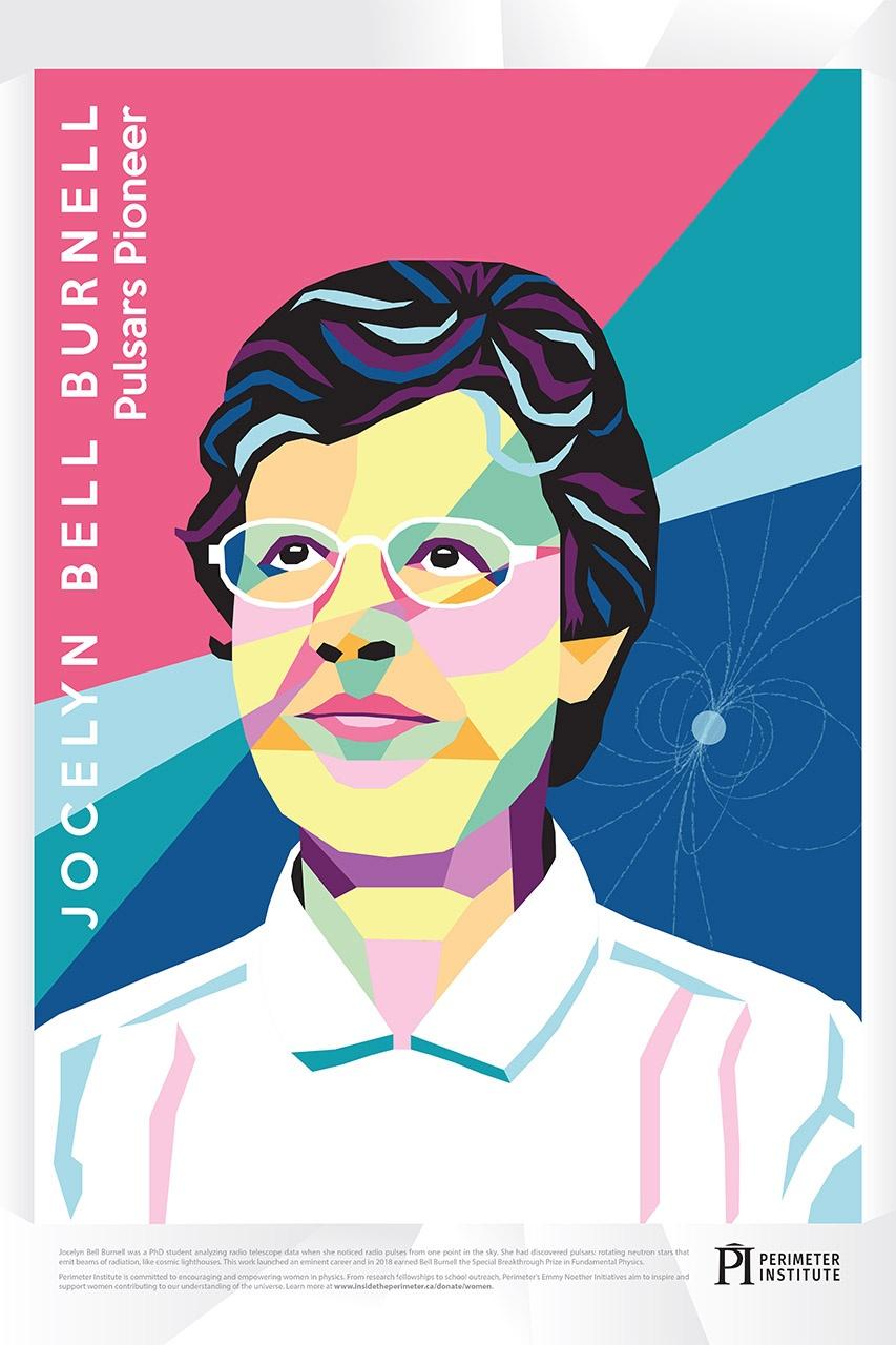 Jocelyn Bell Burnell Poster Thumbnail
