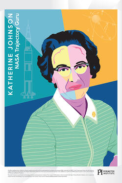 Katherine Johnson Poster Preview