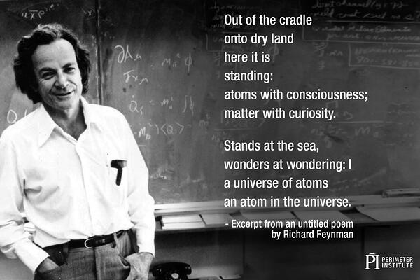 Slice of PI Poetry by Physicists Image